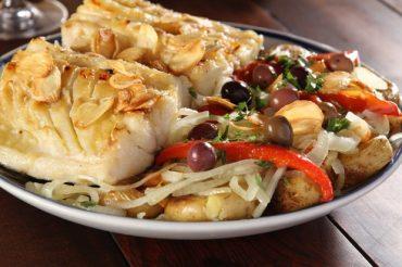 Receitas com bacalhau para saborear em um restaurante